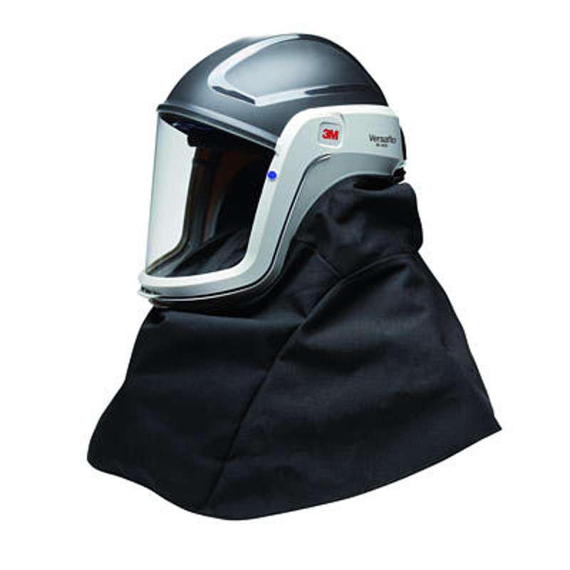 casques de s curit avec cape de protection 3m versaflo m. Black Bedroom Furniture Sets. Home Design Ideas