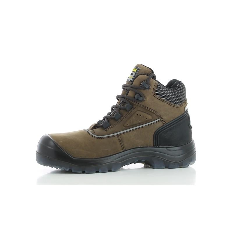 Chaussure de securite haute marron geos s3 src workstore - Chaussure de securite haute ...